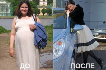 Фото после диеты миримановой